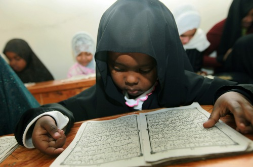 kenyan child reads verses from quran