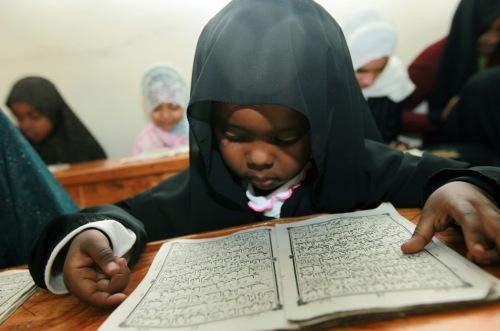 kenyan child reads verses from quran