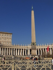 obelisk at vatican city