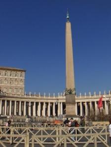 obelisk at vatican city