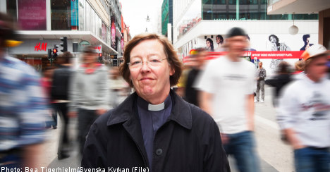 Swedish lesbian bishop
